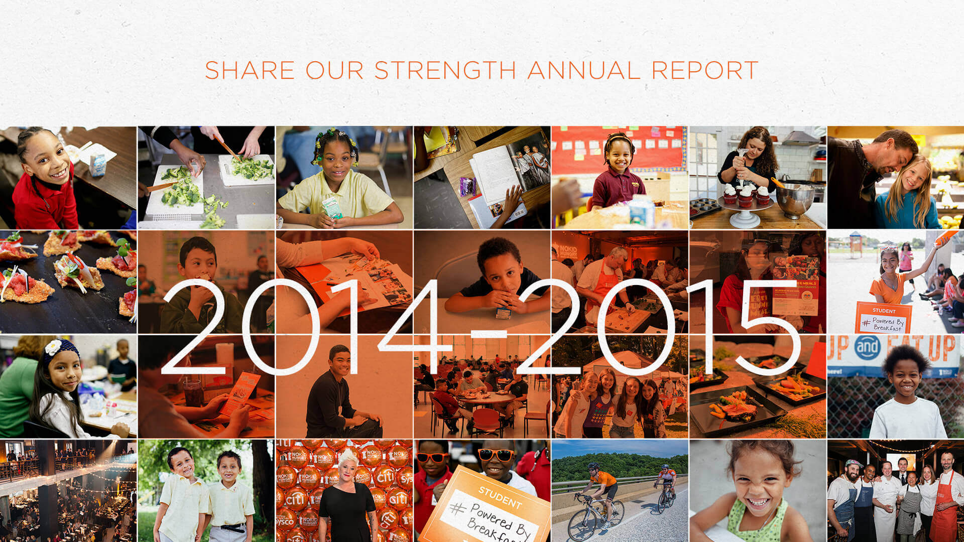 Share Our Strength's 2014-2015 Annual Report